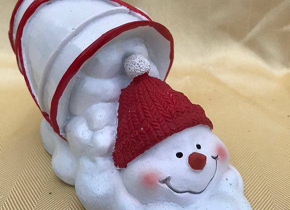 Bucket of Snowman