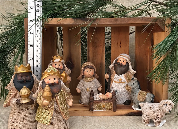 Nativity Scene Set of 8