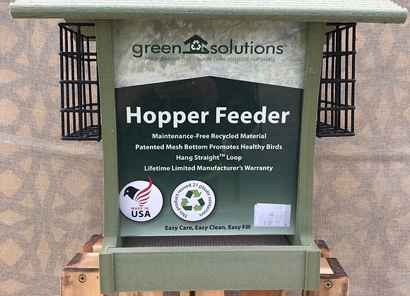 Hopper Feeder Large with Suet rack