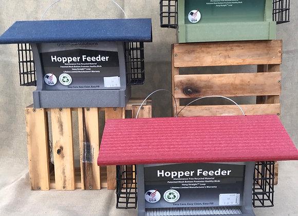 Hopper Feeder with Suet rack