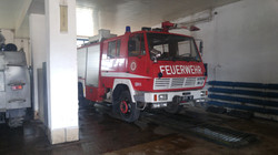 donated fire truck