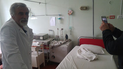 hospital room outside Lviv