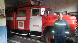 Typical Ukrainian fire truck