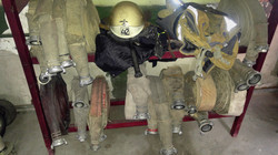 gear and hose rack