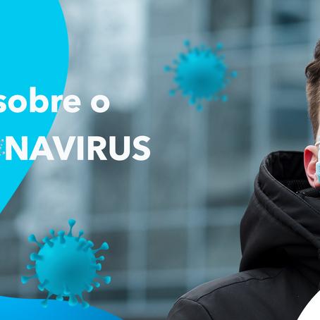 Mitos sobre o coronavírus.