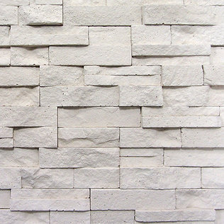 decorative cream stone feature wall tile