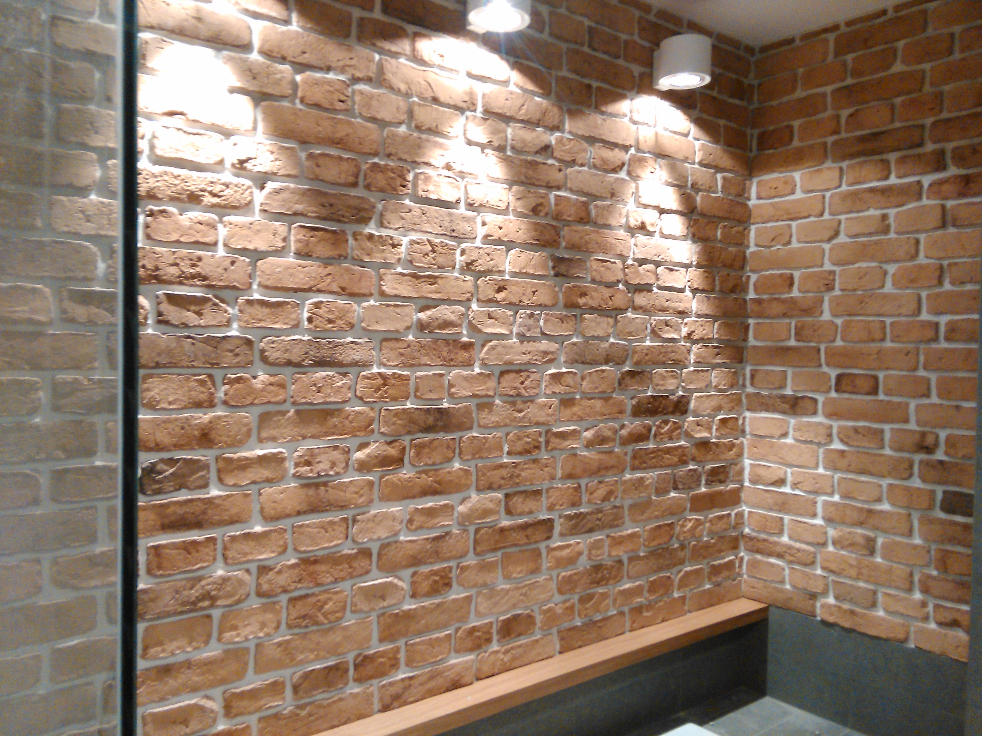 Brick veneers cladding alternative uk feature walls for Modern brick veneer