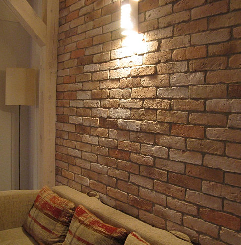 Small Living Room Dark Feature Wall