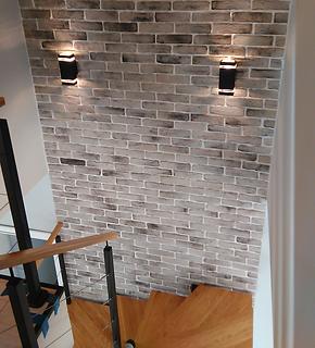 reclaimed brick slips interior exterior uk feature walls