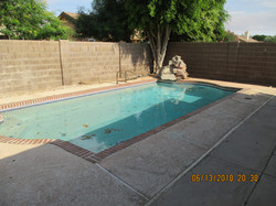 1514 Pool with waterfall