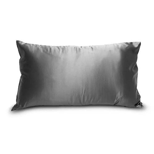 Charcoal 100% Mulberry Silk Pillowcase with Gift Box