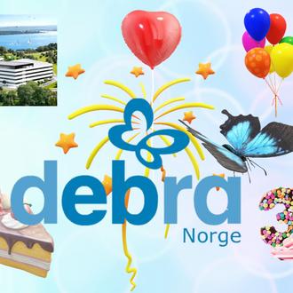 DEBRA Norge årsmøte og fagdag - 30 år med engasjement
