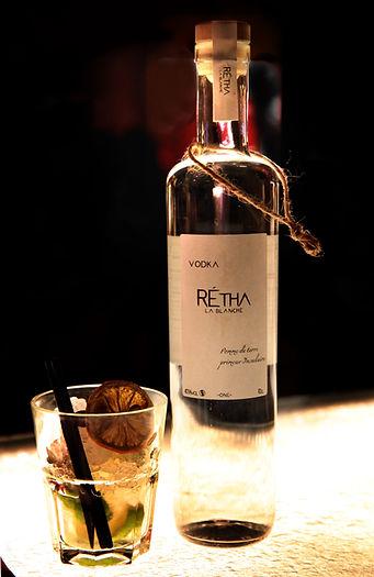 cocktail rétha la blanche
