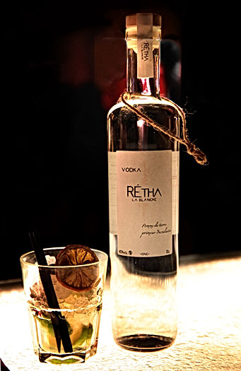cocktail rétha la blanche