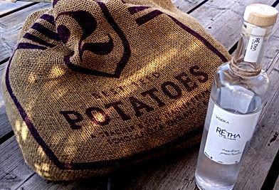 vodka de terroir Rétha La Blanche