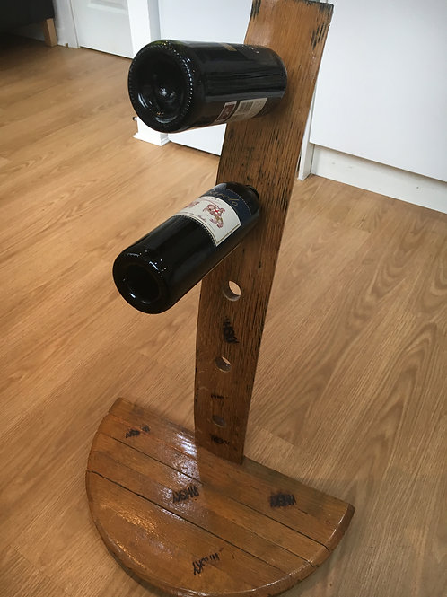 WINE RACK/WHISKY HOLDER HAND CRAFTED