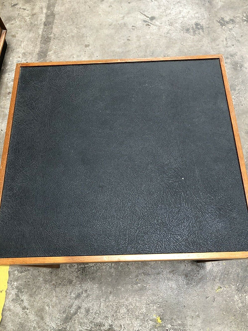 mid century black ash occasional table