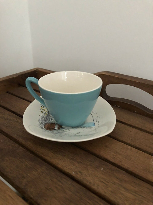 MIDWINTER CANNES HUGH CASSON CUP AND SAUCER
