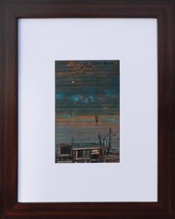 Moinuddin Moni, Sohra 2, Acrylic on paper, 38 x 30 cm with frame, 2017