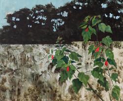 Lalthlanchhuaha (Thlana Bazik), Untitled III, , Acrylic on canvas, 100 x 75 cm, 2019