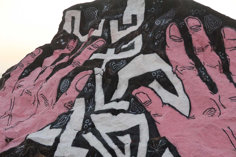 Christophe Riva, Mawkyrwat, Graffiti, 2019