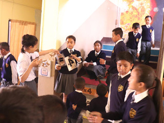 Workshops with the school students who collaborated on educative reconstructions