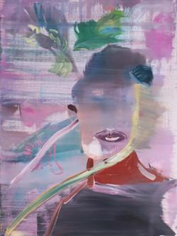 Barbora Kachlikova, Untitled 3, Acrylic on canva