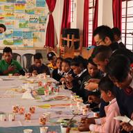 International art Workshopin Mawkyrwat