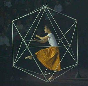 Тело в трехмерном пространстве. Икосаэдр Рудольфа Лабана