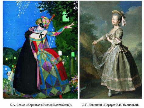 Трансформация игрового элемента в русском искусстве в начале ХХ века на примере работ Д.Г. Левицкого