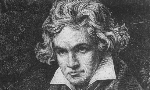 but beethoven my cousin.