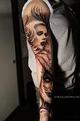 James Strickland tattoo