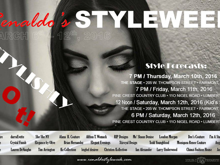 Renaldo's Styleweek March 6 - 12, 2016