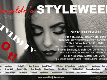 Renaldo's Styleweek March 6 - 12, 2016
