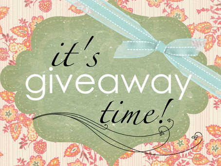 It's Giveaway Time!!!