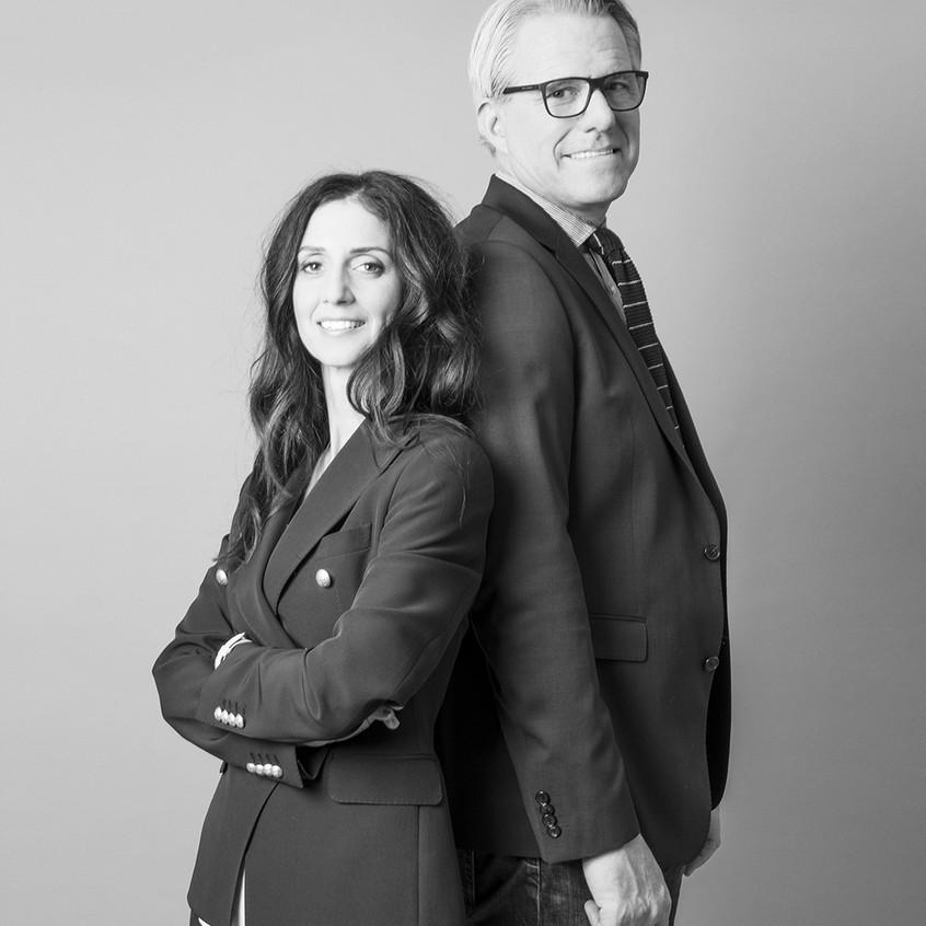 Günter Warth und Lebensgefährtin Claudia Hahn haben das Stammhaus seines Familienunternehmens umgebaut.