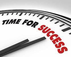 tijd voor succes