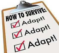 Aanpassen om te overleven