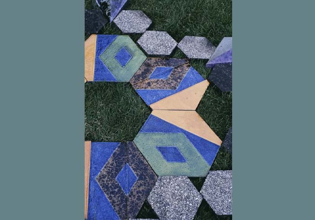 24 Hexes Upon Your Lawn (detail)