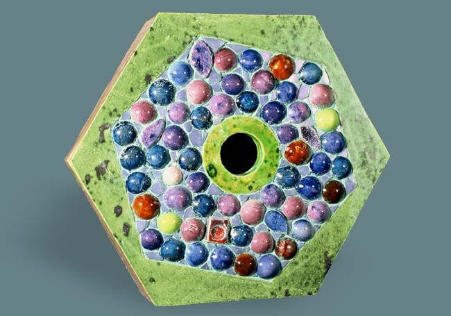 Polka Dot Hexagon