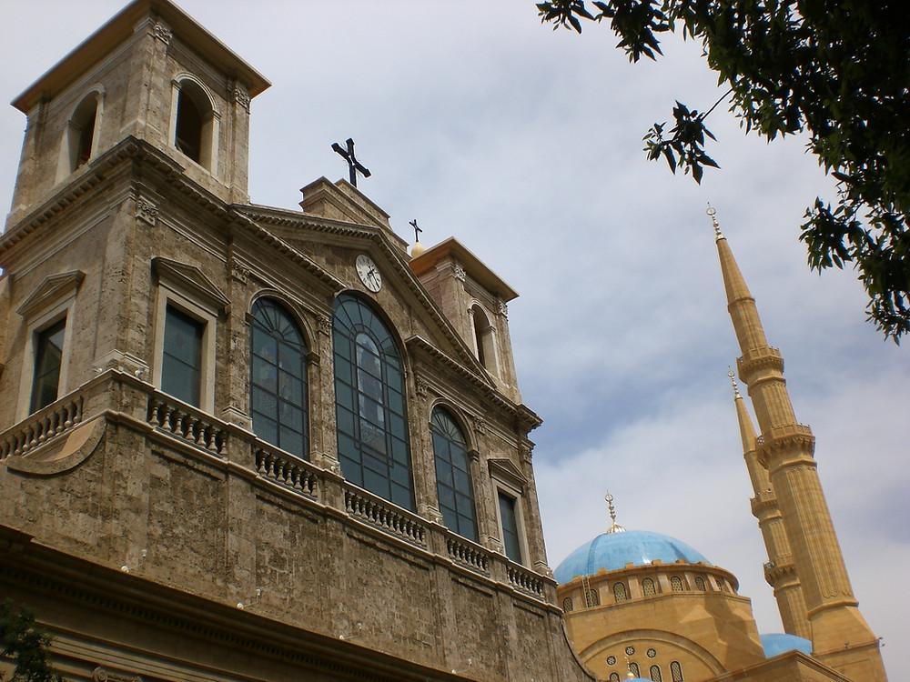 Photo prise par Rima Chemirik, Beyrouth, 2008