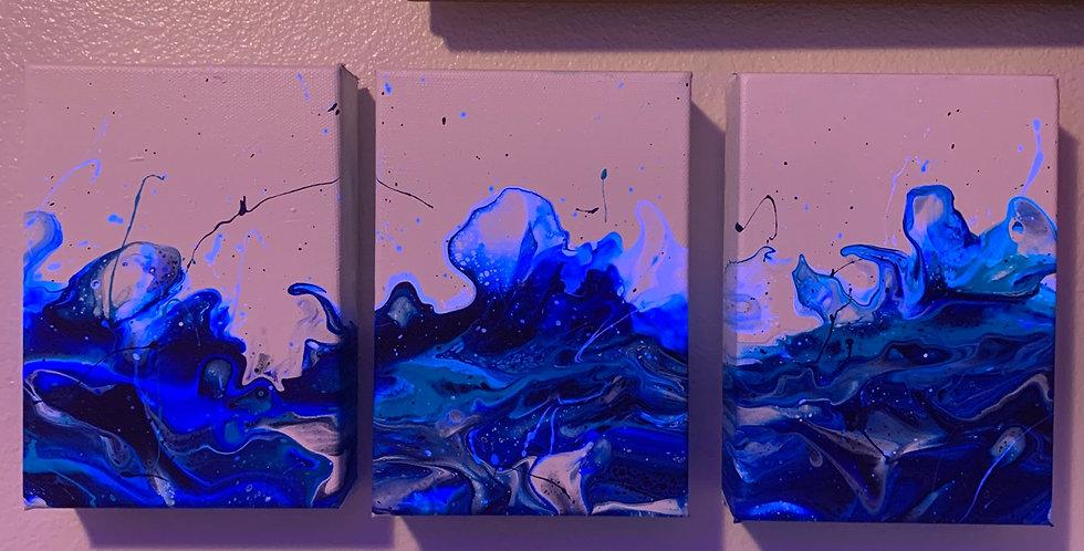 Triptych Wave