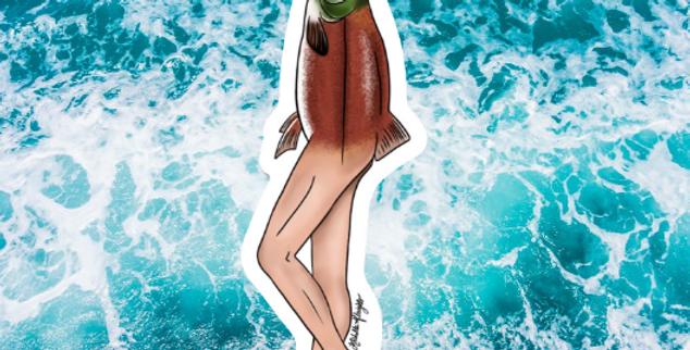 Reverse Alaskan Mermaid (The SalMan)