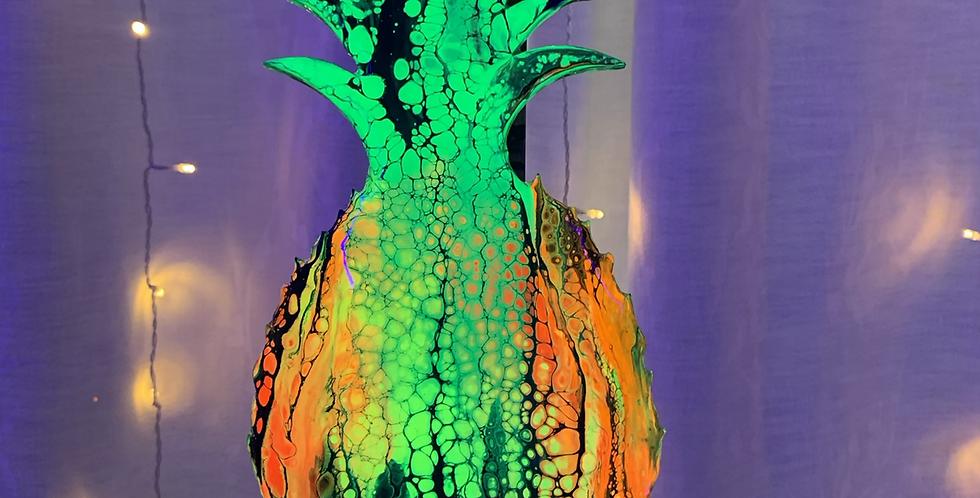 Pineapple Resin Cutout