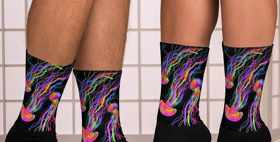 Rainbow Jelly Socks