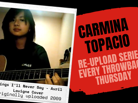 "RE-UPLOAD cover for today is ""Things I'll never say"" by Avril Lavigne"