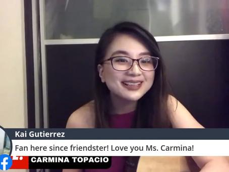 OWTO LIVE presents Carmina Topacio!!