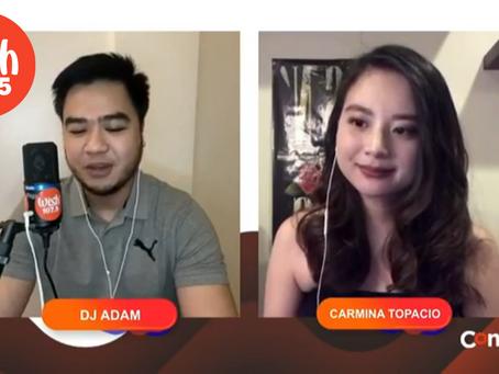 Carmina Topacio Live at Wish 107.5 Connect