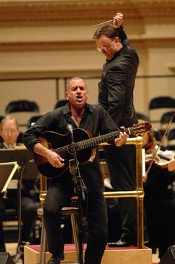 JFO and David Broza at Carnegie Hall
