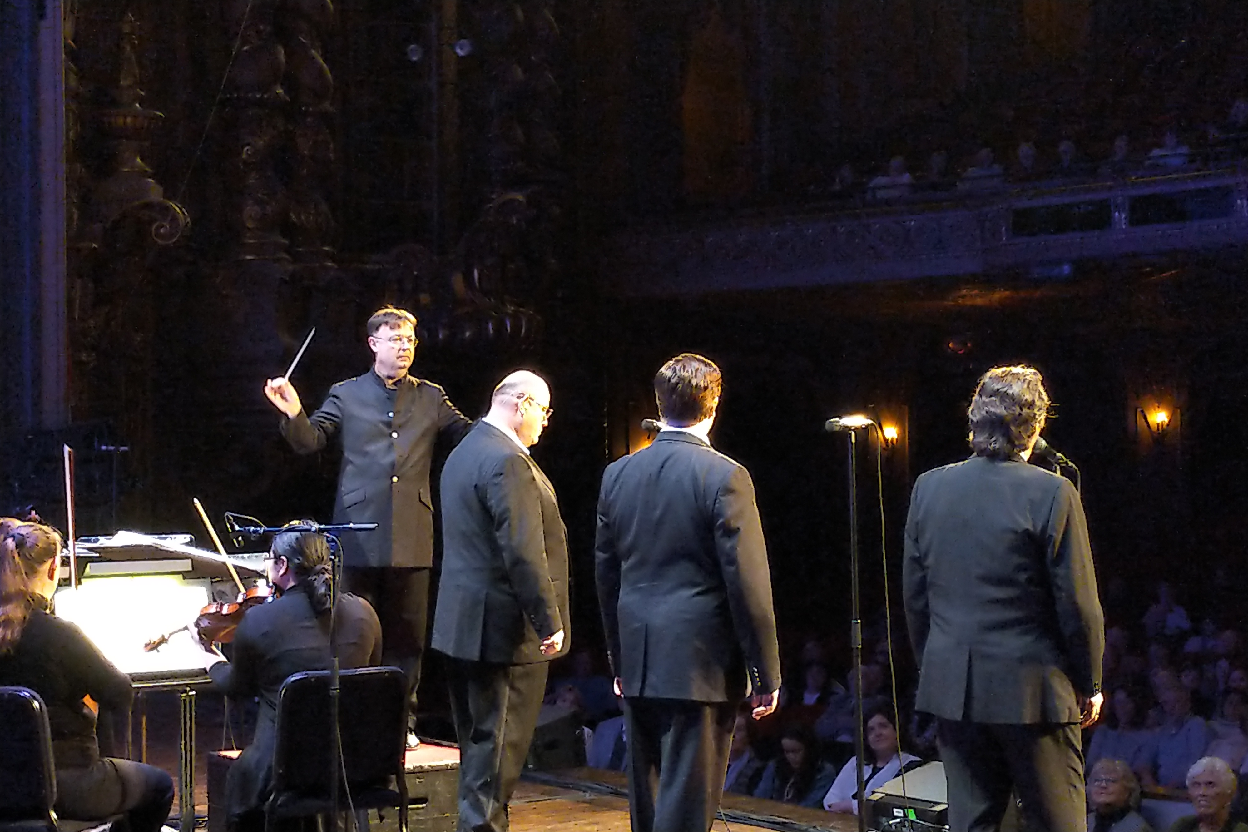 David Wroe and the 3 Irish Tenors